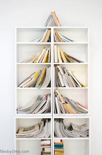 Книжныё шкаф-ёлка для любителя почитать