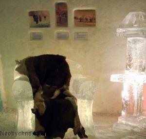 Отель из льда - красиво, но холодно