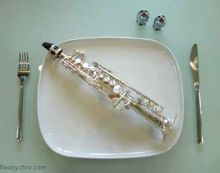 Саксофон - самый маленький в мире