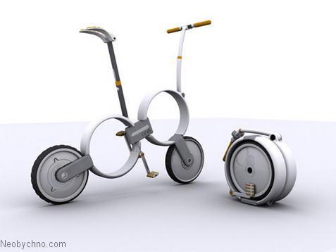 Концепт велосипеда будущего