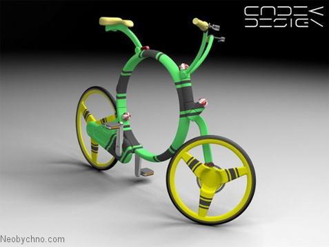 Велосипед-саранча