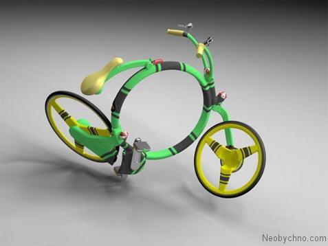 Необычный концепт велосипеда