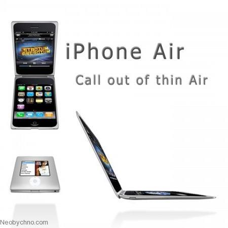 Необычный концепт iPhone Air
