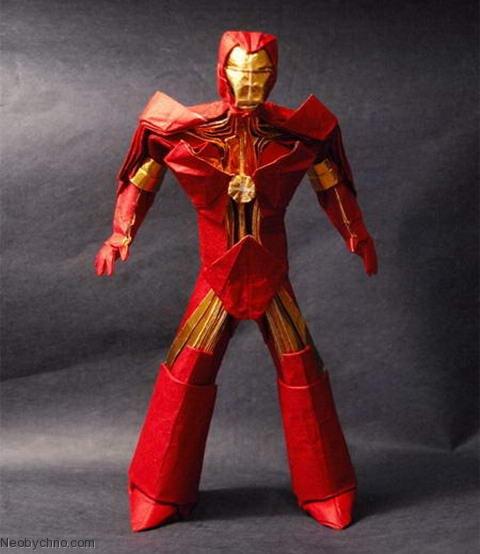 Оригами Железный человек