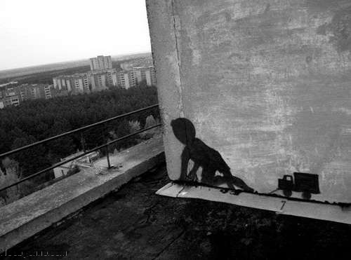 Припять граффити