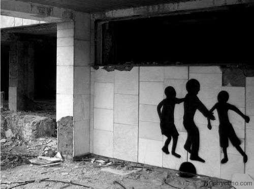 Припять граффити - фото