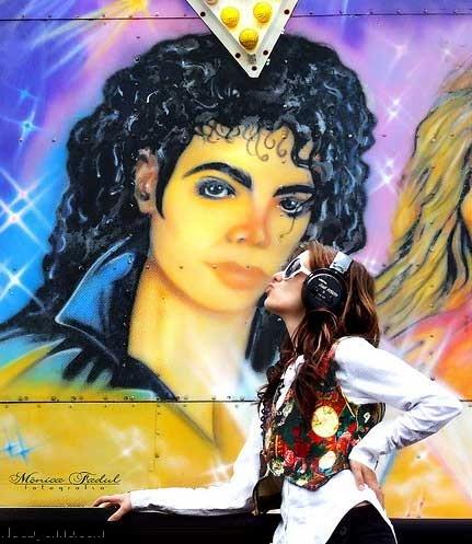 Прощальный поцелуй с Майклом Джексоном