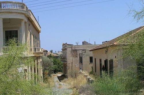 заброшенные дома в Вароше