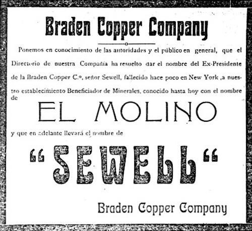 Braden Copper