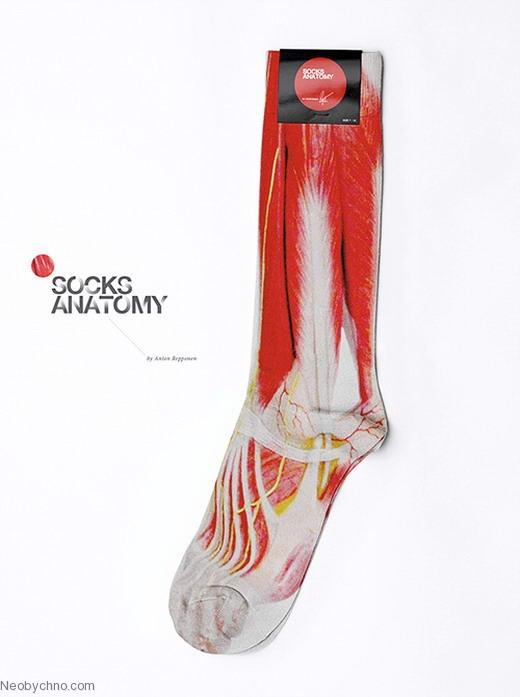 Носки для любителей анатомии