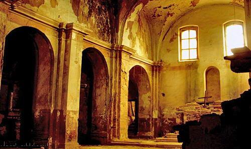 Внутри замка в Крако