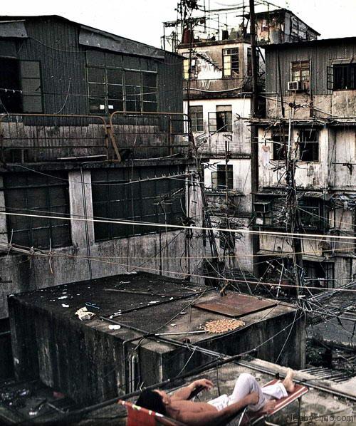 Крепость Коулун. Мега-бомжатник в Гонконге фото