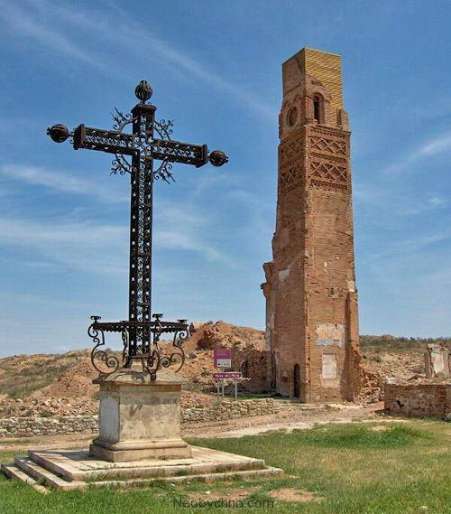 православный крест в Бельчите