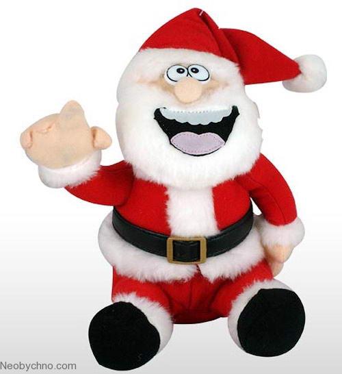 Санта Клаус - неотъемлемый атрибут Нового года
