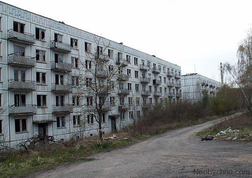 чешский Город-призрак Миловице