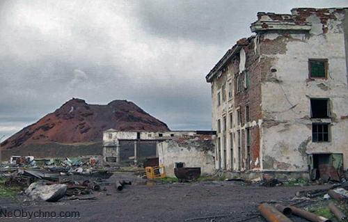 Хальмер-Ю - один из самых холодных городов-призраков