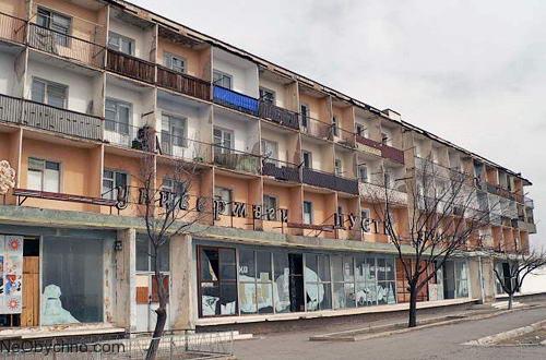 Шураб в Таджикистане - в бывшем СССР тоже немало мертвых городов