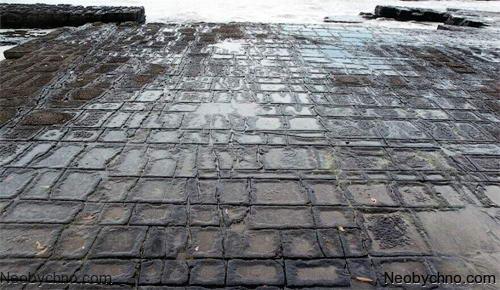 Мозаичная мостовая, Тасмания (Австралия) 02-tesselated-pavement