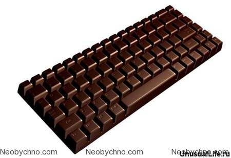 Шоколадная клавиатура для системных администраторов