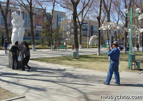 Парк Сталина в Харбине