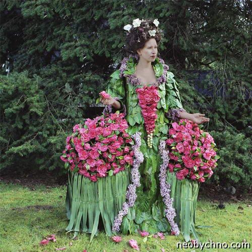Платье от природы
