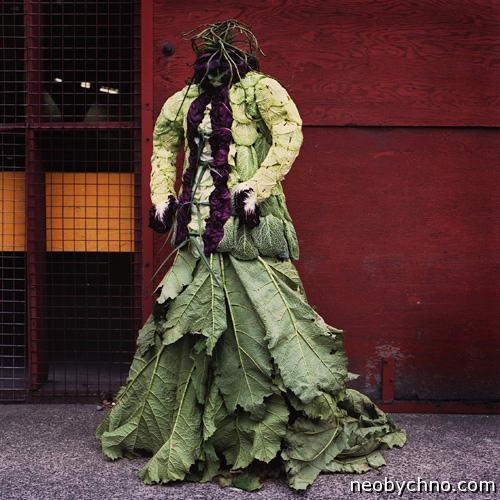 Потрясающие платья от матушки-природы