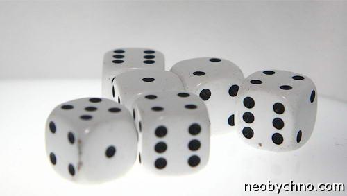 Контроль качества игральных кубиков