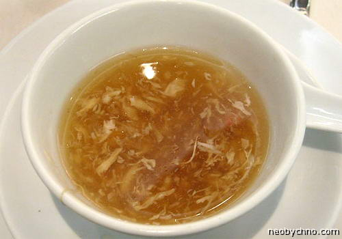Суп из плавников акулы