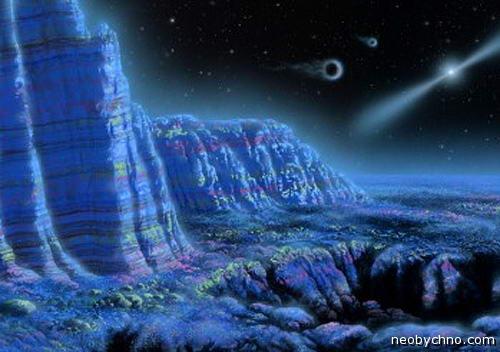 Планета, вращающаяся вокруг пульсара