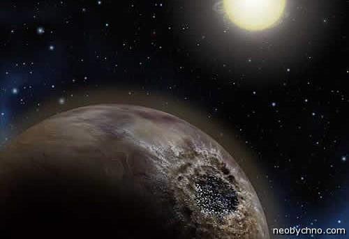 Углеродная планета с бриллиантовым ядром