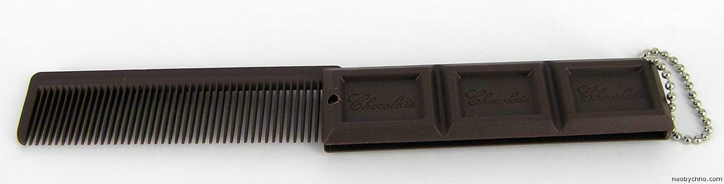 шоколадная расческа