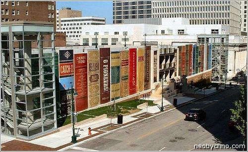 библиотека в городе Канзас-Сити