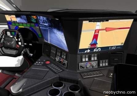 Внедорожник Hawk - место пилота