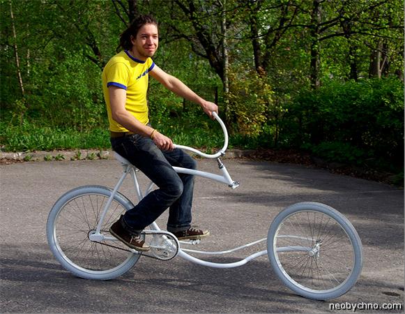 велосипед без вилки
