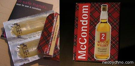 презервативы со вкусом виски