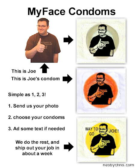 MyFace кондомы