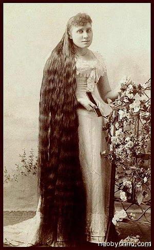 Самые длинные волосы 19 века