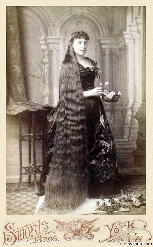 Милли Оуэнс, королева длинных волос