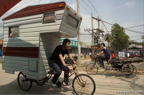 велодом на колесах