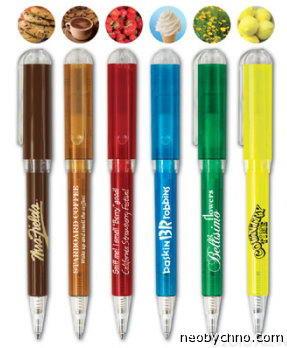 ручка с ароматом