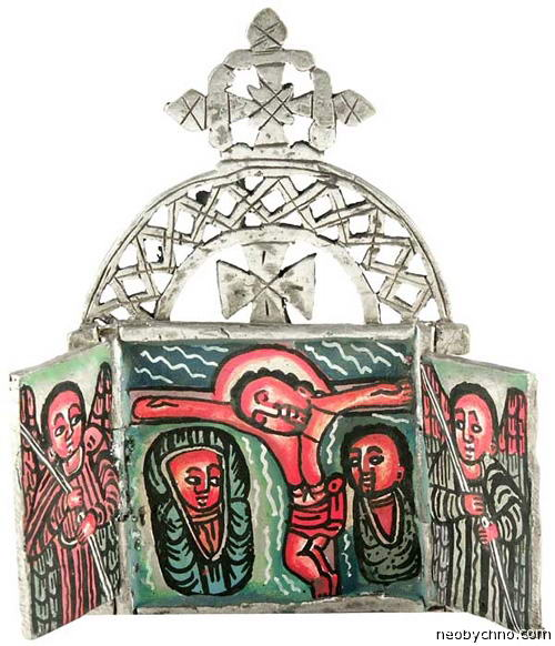Эфиопская карманная икона
