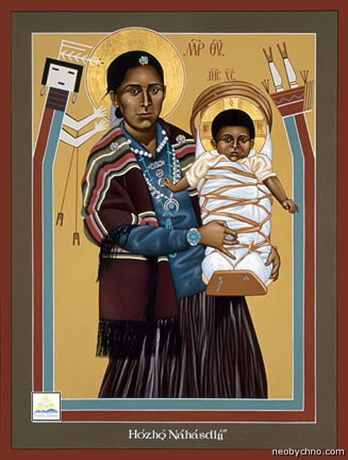 Мадонна из племени Навахо