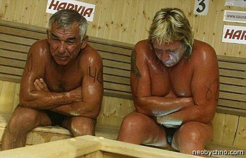 Чемпионат мира по сидению в сауне