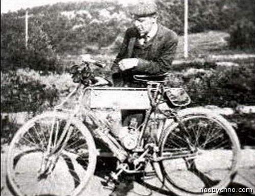 Уильям Нельсон, изобретение мопеда