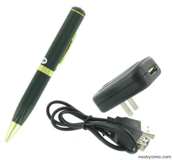ручка шпион с видеокамерой