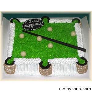 торт бильярдный