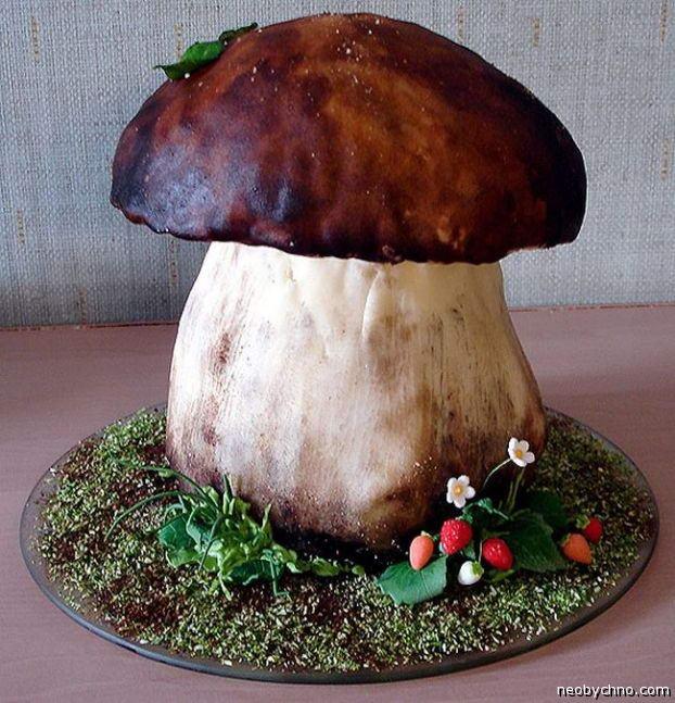 торт гриб