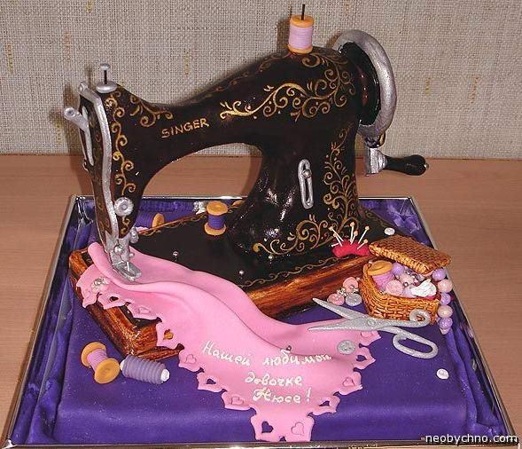 торт белошвейка