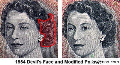 Лик Дьявола в волосах королевы