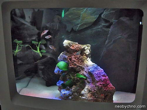 Маквариум Классик, аквариум из старого моноблока